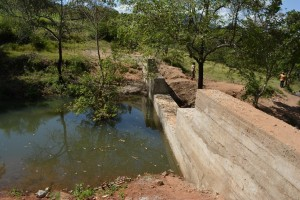The Water Project : 20-kenya4466-finished-sand-dam