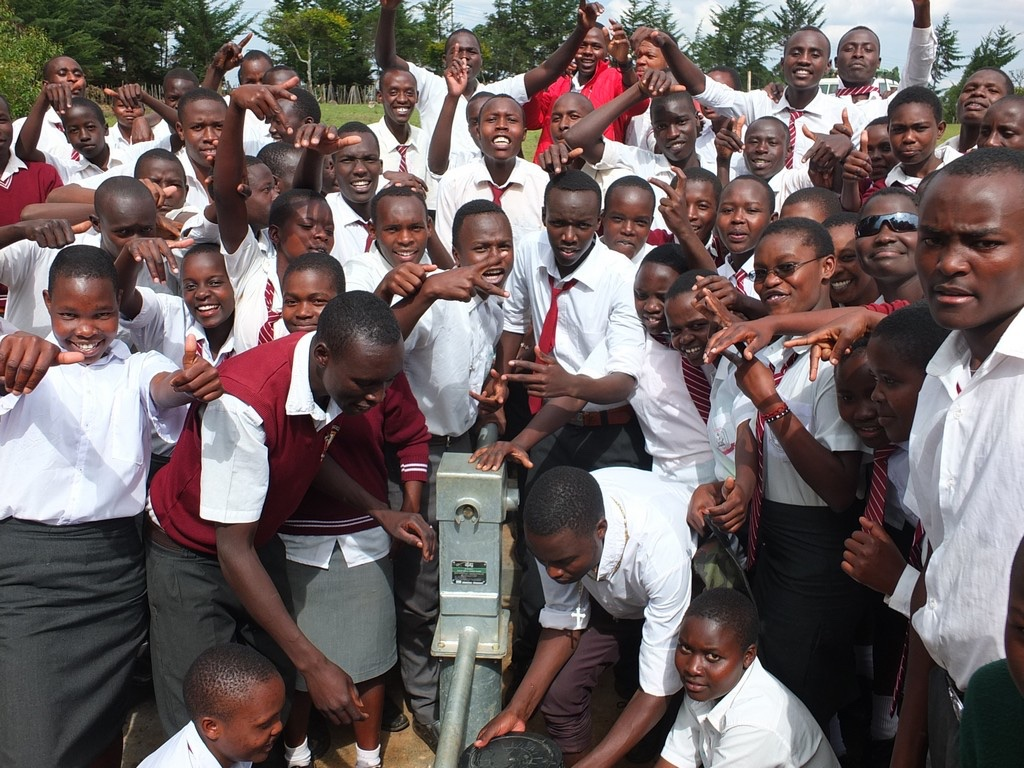The Water Project : 22-kenya4369-celebration