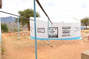 The Water Project : 23-kenya4501-finished-tank