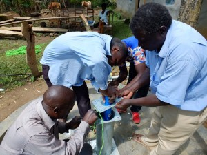 The Water Project : 28-kenya4535-pump-installation