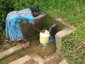 The Water Project : 5-kenya4537-protected-spring