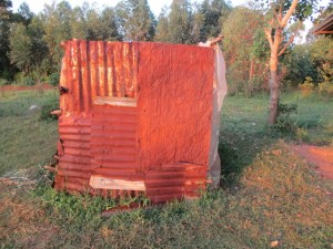 The Water Project : 5-kenya4583-latrine