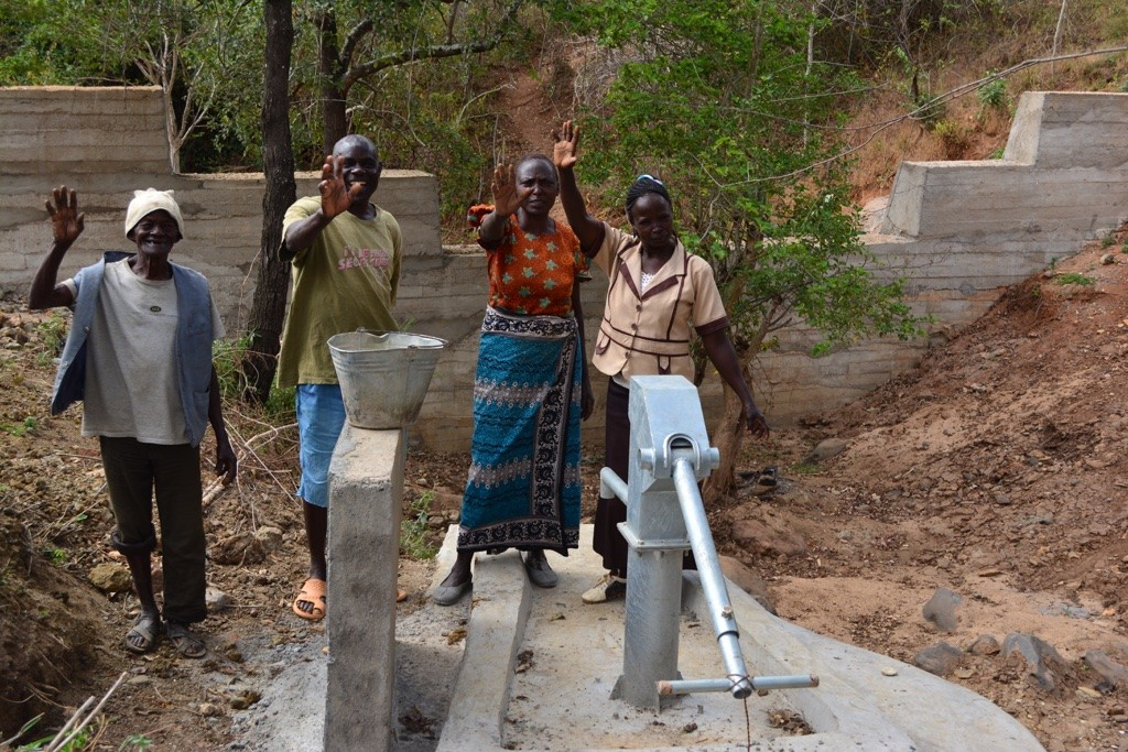 Photo of Kiluta New Well Project