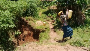 The Water Project : 7-kenya4581-fetching-water