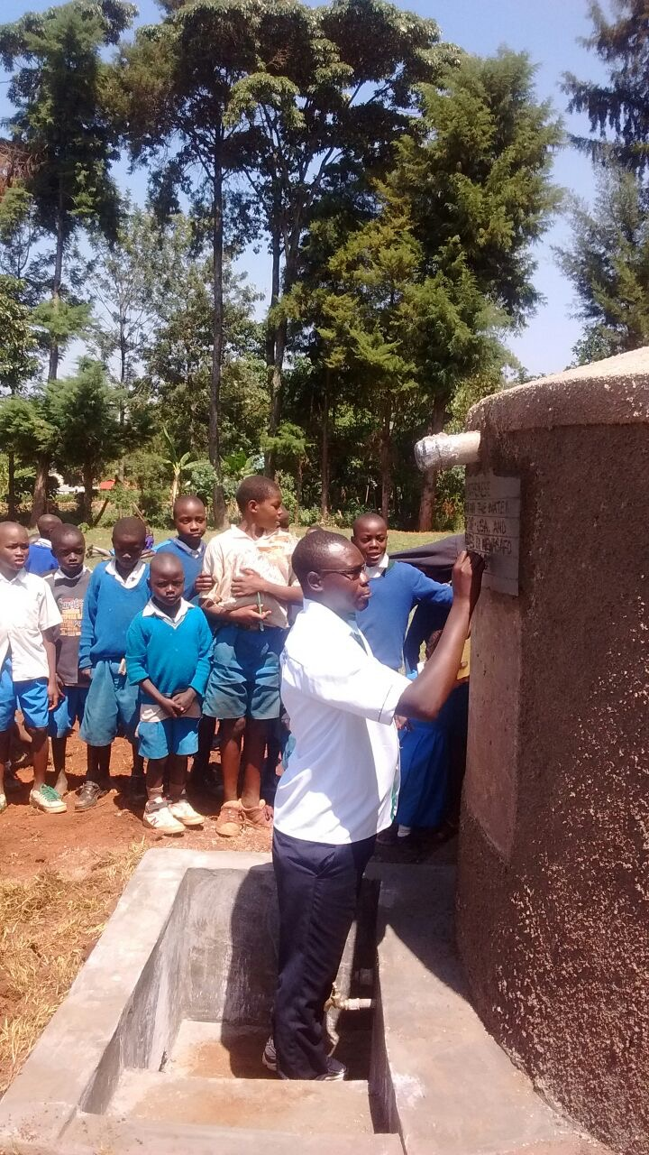 The Water Project : 7-kenya4635-second-tank