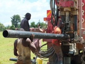 The Water Project : 8-kenya4369-drilling