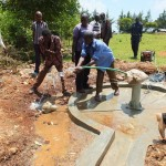 The Water Project: Kapkoimur Secondary School New Well Project -