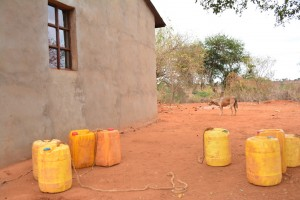 The Water Project : 1-kenya4498-water-containers