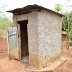 The Water Project : 10-kenya4469-latrine