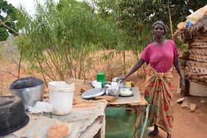 The Water Project : 10-kenya4470-dish-rack