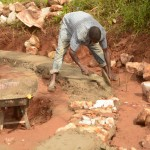 The Water Project: Maiani Primary School -  Construction