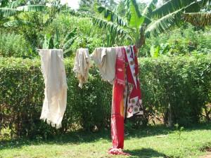 The Water Project : 10-kenya4541-clothesline