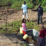 The Water Project: Mukoko Spring Protection Project -