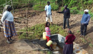 The Water Project : 10-kenya4574-protected-spring