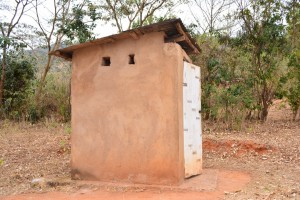 The Water Project : 12-kenya4470-latrine