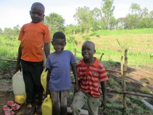 The Water Project : 17-kenya4578-protected-spring