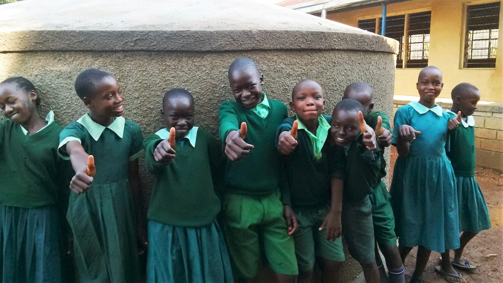 Photo of Matende Primary School Rainwater Catchment Project