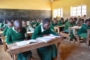The Water Project : 2-kenya4504-students