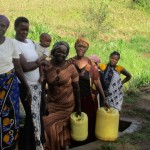 The Water Project: Omulakha Spring Protection Project -