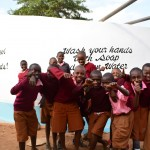 The Water Project: Maiani Primary School -  Completed Tank