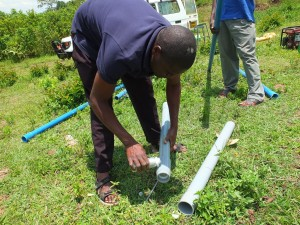 The Water Project : 23-kenya4537-pump-installation