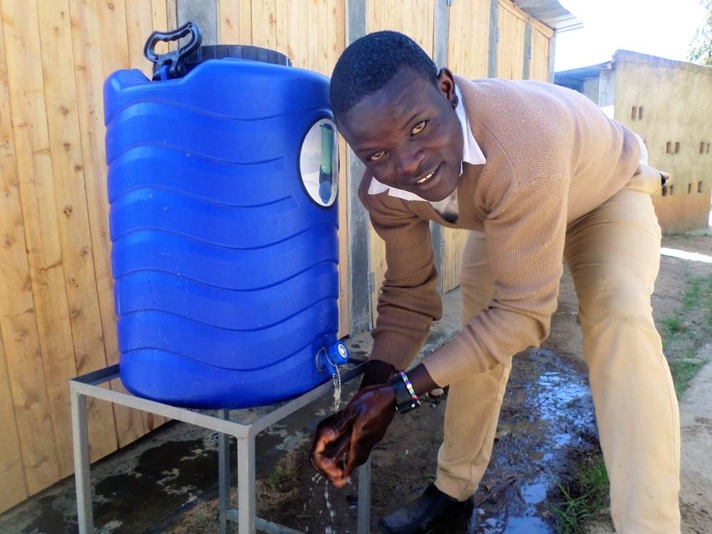 Photo of Ebwambwa Secondary School Rainwater Catchment Project