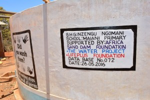 The Water Project : 25-kenya4502-finished-tank