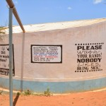 The Water Project: Maiani Primary School -  Finished Tank