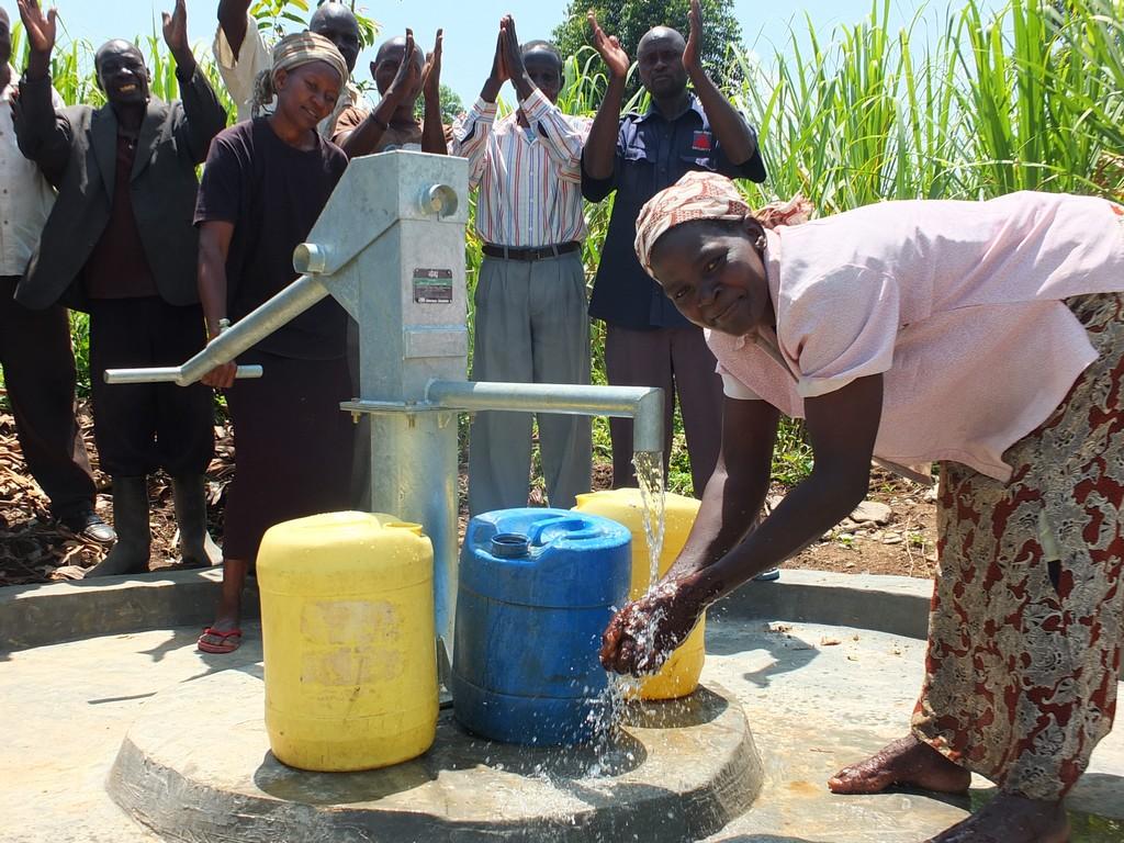 The Water Project : 37-kenya4537-handing-over
