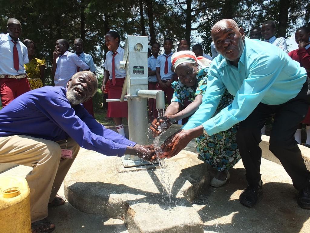 Photo of Namushiya Well Rehabilitation Project