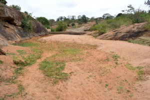 The Water Project : 4-kenya4470-first-sand-dam