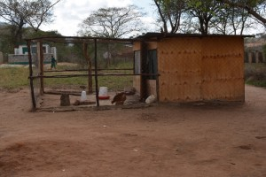 The Water Project : 4-kenya4504-chicken-coop