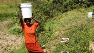 The Water Project : 4-kenya4586-unprotected-spring