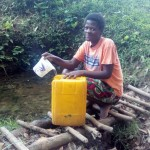The Water Project: Garagoli-Galilaya Community, Hanington Mulanda Spring -