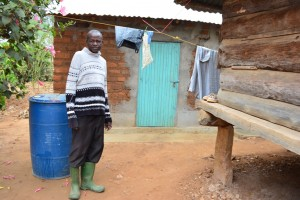 The Water Project : 6-kenya4469-patrick-kiemas-household