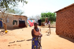 The Water Project : 6-kenya4472-jeniffers-home