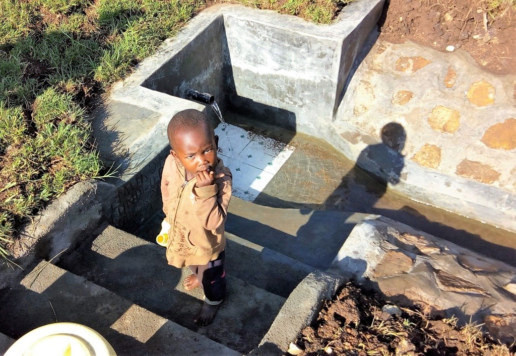 Photo of Mukoko Spring Protection Project