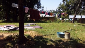 The Water Project : 7-kenya4586-clothesline
