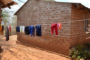 The Water Project : 8-kenya4472-clothesline