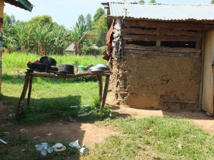 The Water Project : 8-kenya4542-dish-rack