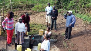 The Water Project : 8-kenya4574-protected-spring