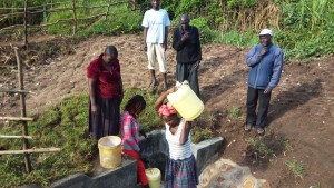 The Water Project : 9-kenya4574-protected-spring