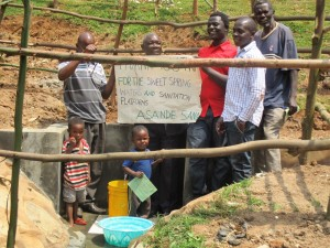The Water Project : 10-kenya4583-protected-spring