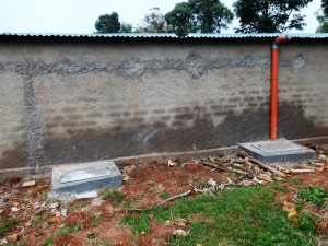 The Water Project : 11-kenya4616-finished-latrines
