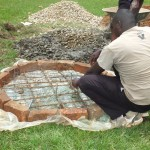 The Water Project : 13-kenya4541-well-pad-construction