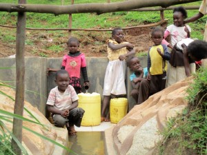 The Water Project : 14-kenya4583-protected-spring