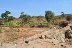 The Water Project : 15-kenya4472-finished-sand-dam