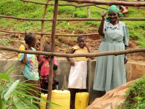 The Water Project : 15-kenya4583-protected-spring