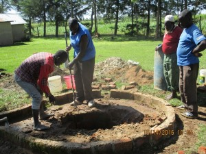 The Water Project : 16-kenya4541-well-pad-construction