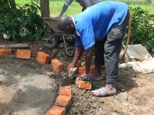The Water Project : 16-kenya4542-well-pad-construction